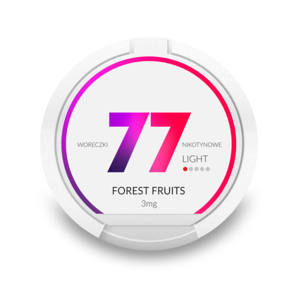 77 Forest Fruits 3mg nikotiinipussi