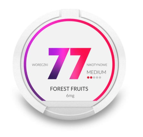 77 Forest Fruits 6mg nikotiinipussit