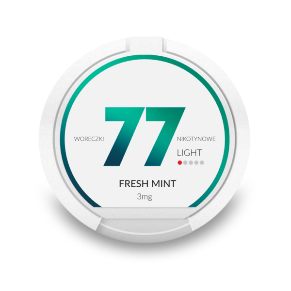 77 Fresh Mint 3mg nikotiininuuska