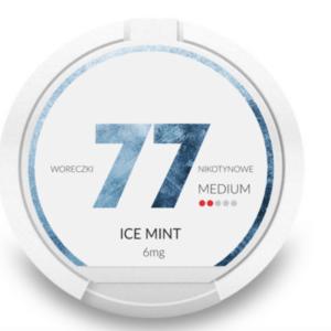 77 Ice Mint 6mg nikotiinipussi