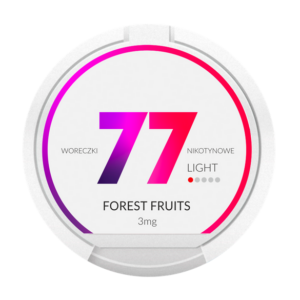 77 Nikotiinipussi Forest Fruits 3mg