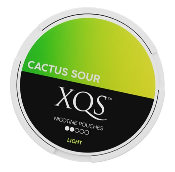 XQS Cactus Sour 4mg nikotiinipussi