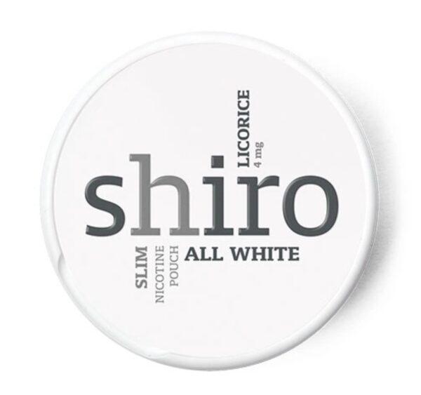 Shiro Licorice nikotiininuuska